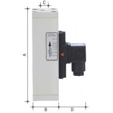 FLOW SWITCHES MONITOR ELETTROTEC IF4VE16/A