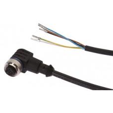 CABLE CONECTOR ACODADO IPF ELECTRONIC M12 5PIN 2M VK200621