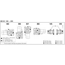 MOTORREDUCTOR ROSSI MR ICI 100 UO3A I=31.4 /7.5 CV