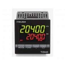 CONTROLADOR DE PROCESOS TOHO TTM-204-X-IR-R