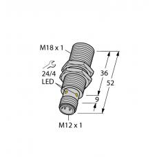 SENSOR INDUCTIVO TURCK BI8U-M18-AP6X-H1141 1644731