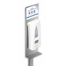 Dispensador de Gel Hidroalcoholico // OP MAX Higiene de Manos // Estación de limpieza sin contacto ( COVID-19)