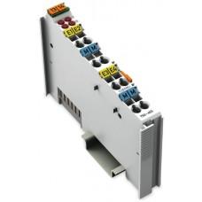 Entrada analógica 4CAN 4-20 mAh 12 bits WAGO 750-455